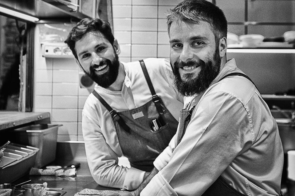 Alessandro Miocchi e Giuseppe Lo Iudice. Foto di Teresa De Masi