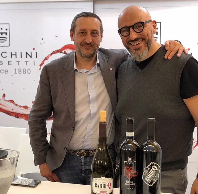 BarbeQ - Tony Rossetti della cantina Bianchini Rossetti e Gaetano Ciontoli