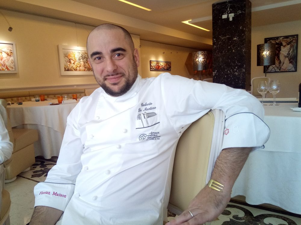 Chef Umberto De Martino