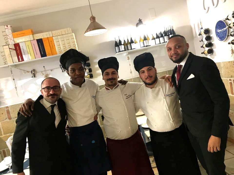 Lo Chef Ivano Picardi & La Squadra Dell'Osteria del Mare