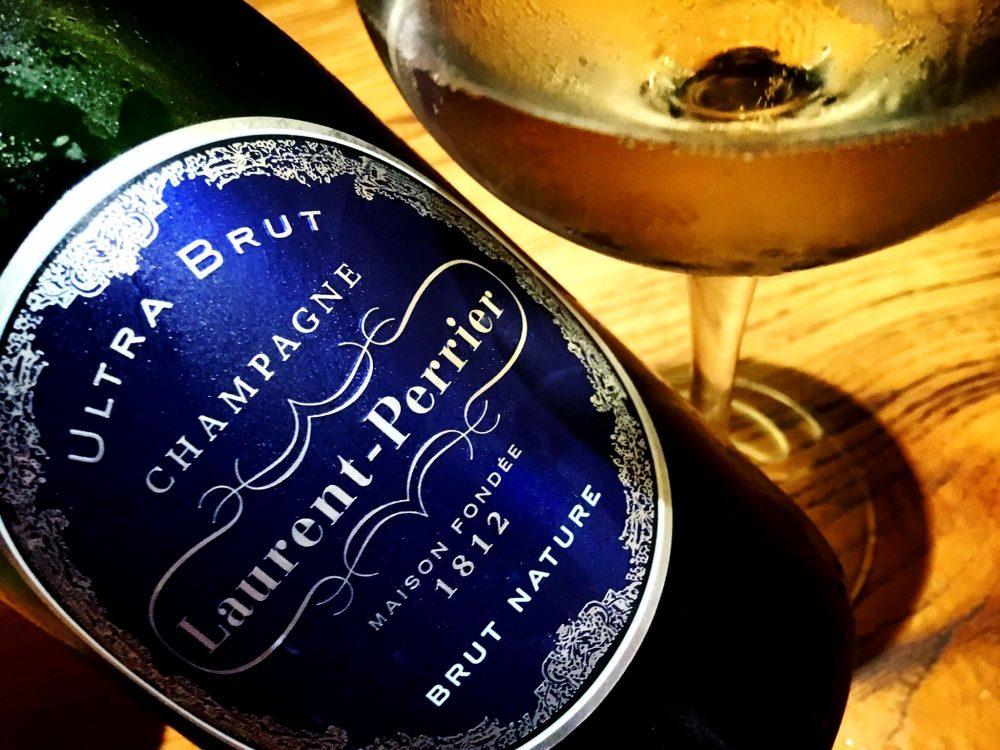 Jorudan Sushi - Champagne Laurent Perrier Ultra Brut, Sboccatura 2017
