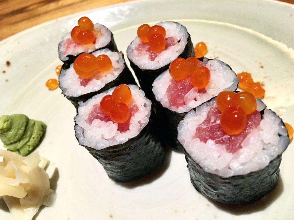 Jorudan Sushi - Hosomaki Tuna & Ikura