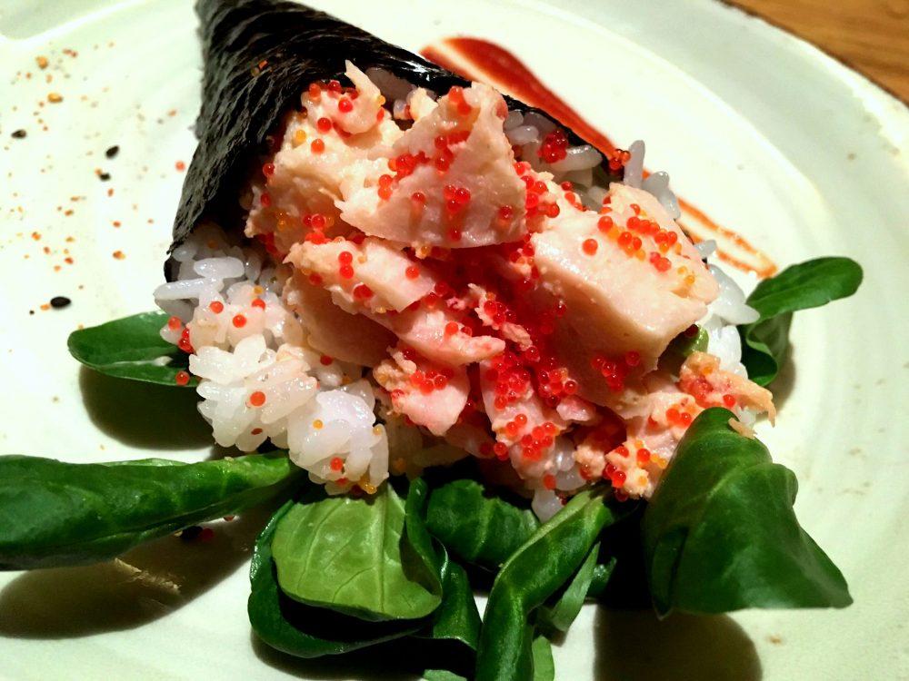 Jorudan Sushi - Lobster Temaki