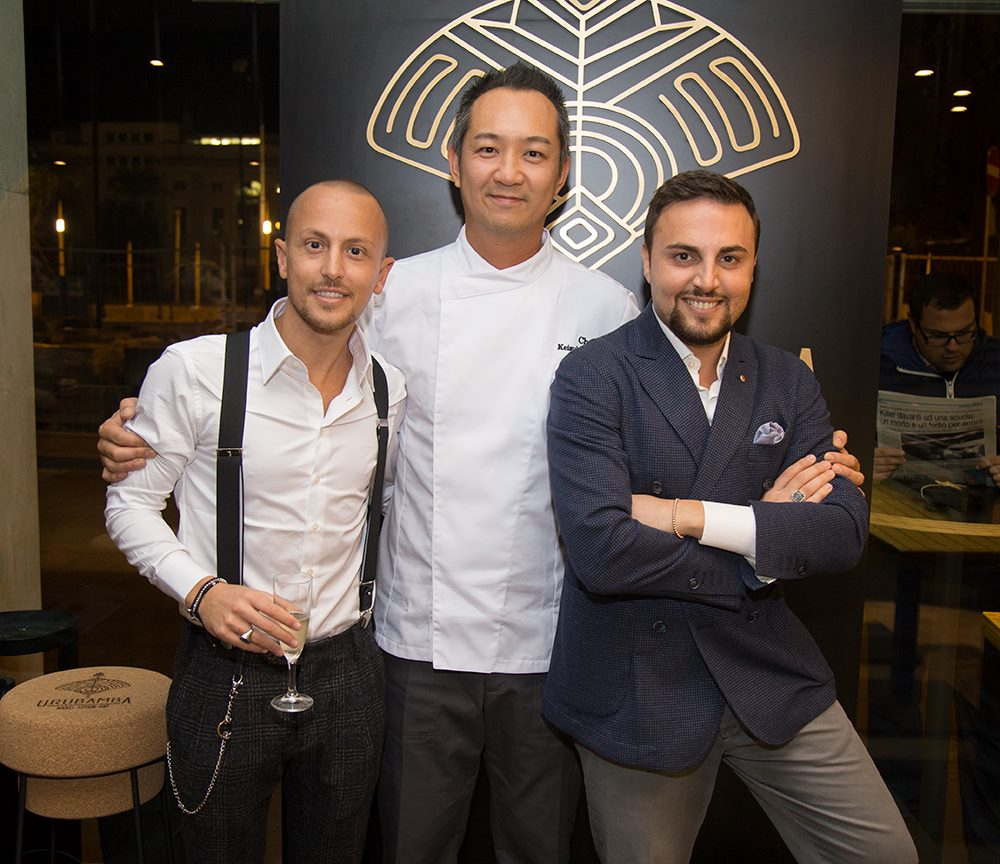 Vincenzo Ricciolino, Keisuke Aramaki, Dario Cecaro