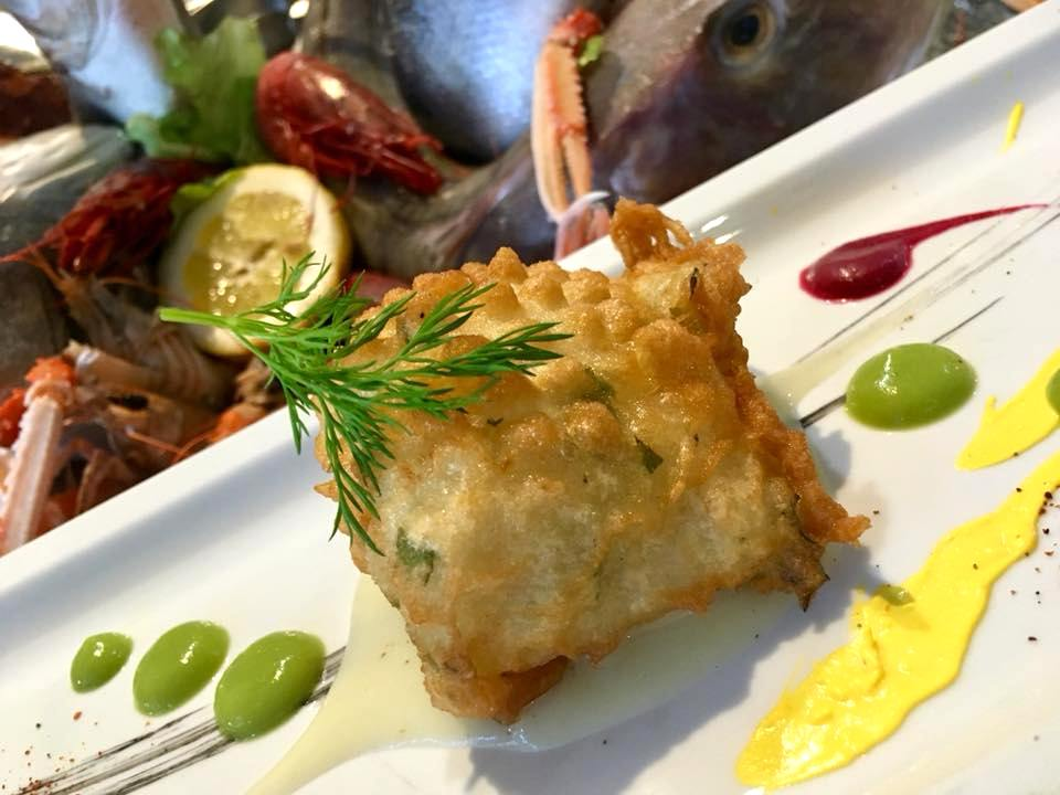 Osteria Del Mare- Baccala' In Pastella di Friarielli