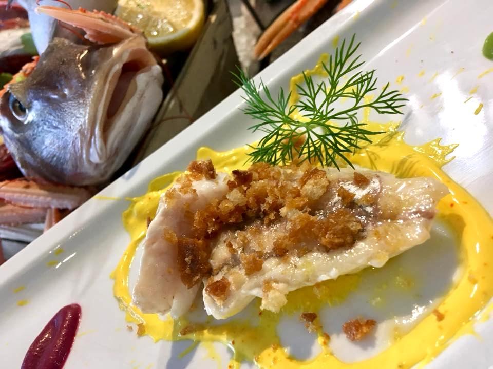 Osteria Del Mare - Coccio Con Salsa Allo Zafferano