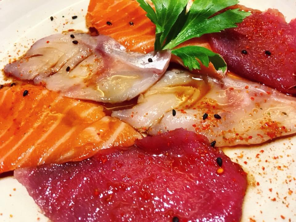 Jorudan Sushi - I Carpacci marinati by Jorudan Sushi