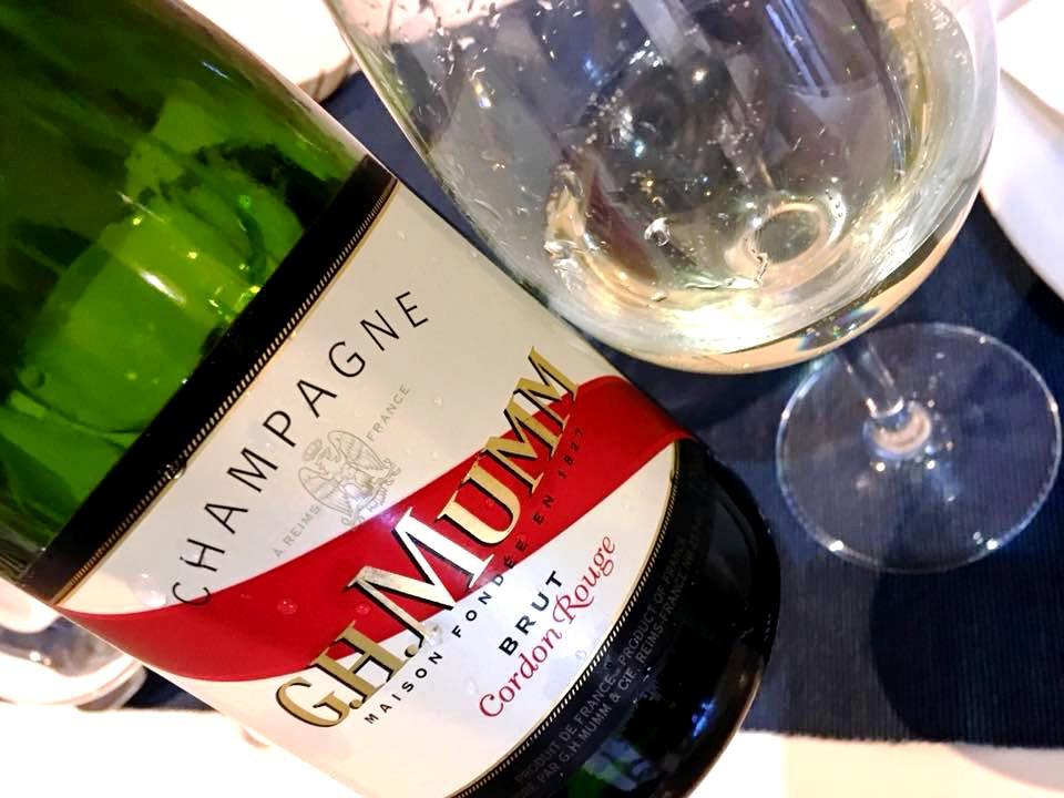 Osteria Del Mare- Champagne G.H.Mumm Cordon Rouge