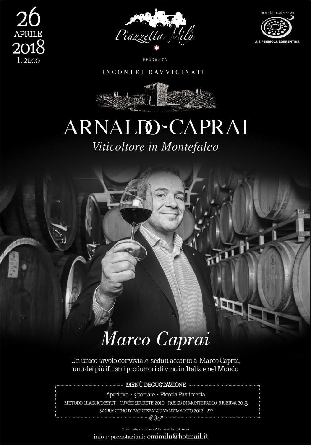 INCONTRI RAVVICINATI Marco Caprai
