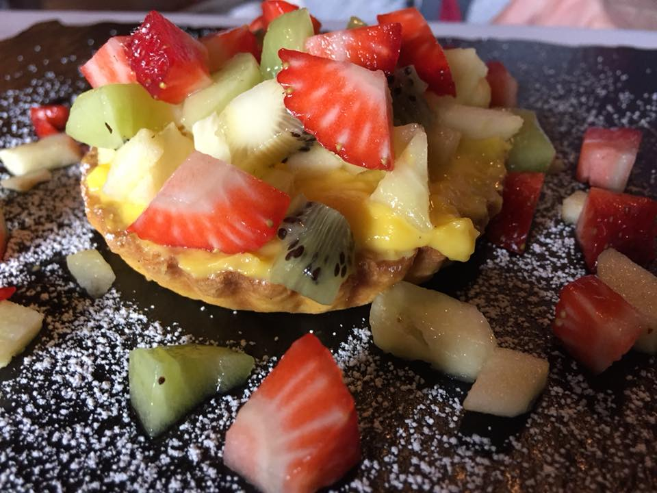 Il Focarile, crostata di frutta fresca
