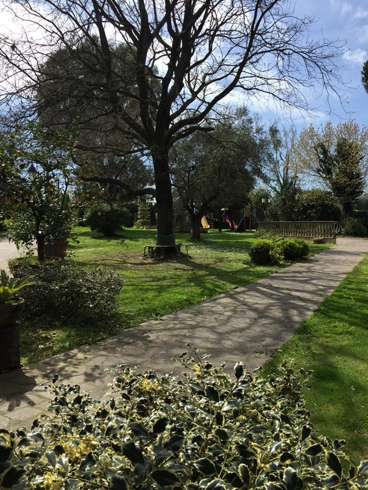 Il Focarile, il giardino