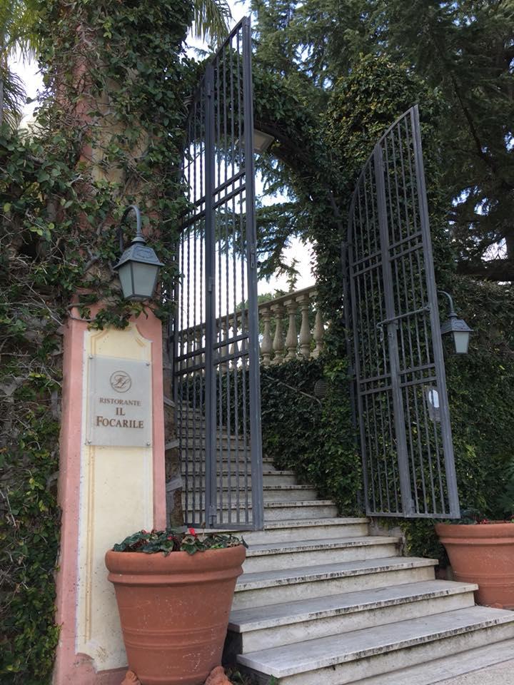 Il Focarile, l'ingresso