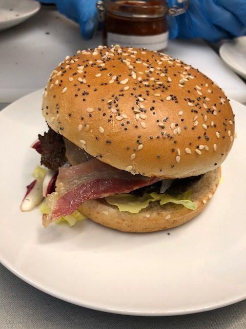 Il panino secondo classificato