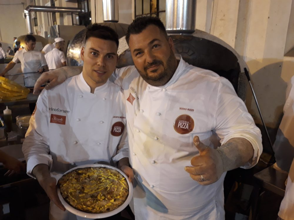 Mirko Rizzo e Jacopo Mercuro e la loro Carbonara