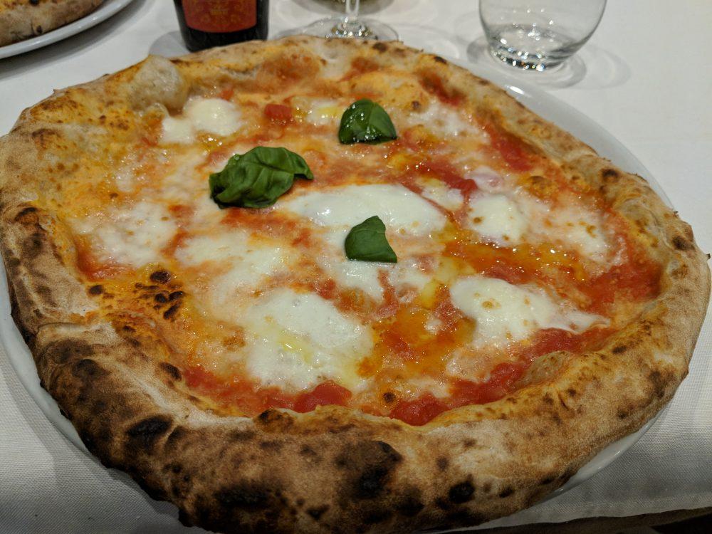 Pizzeria Artigianale 3voglie, pizza margherita