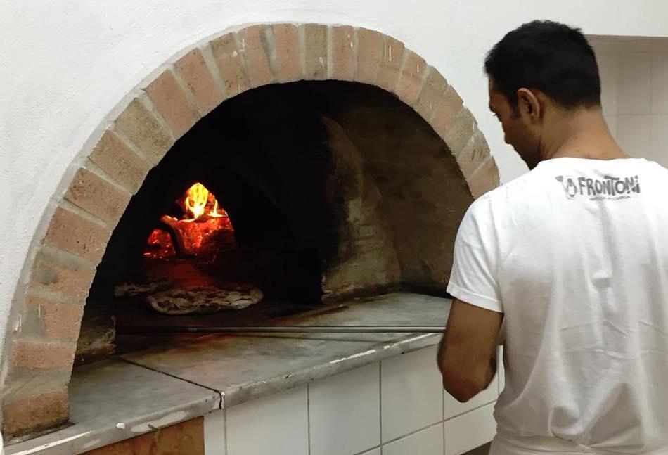 Pizzeria Frontoni, il forno