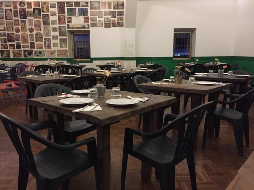 Pizzeria Frontoni, la sala