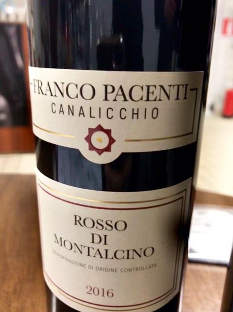 Rosso di Montalcino Franco Pacenti Canalicchio 2016
