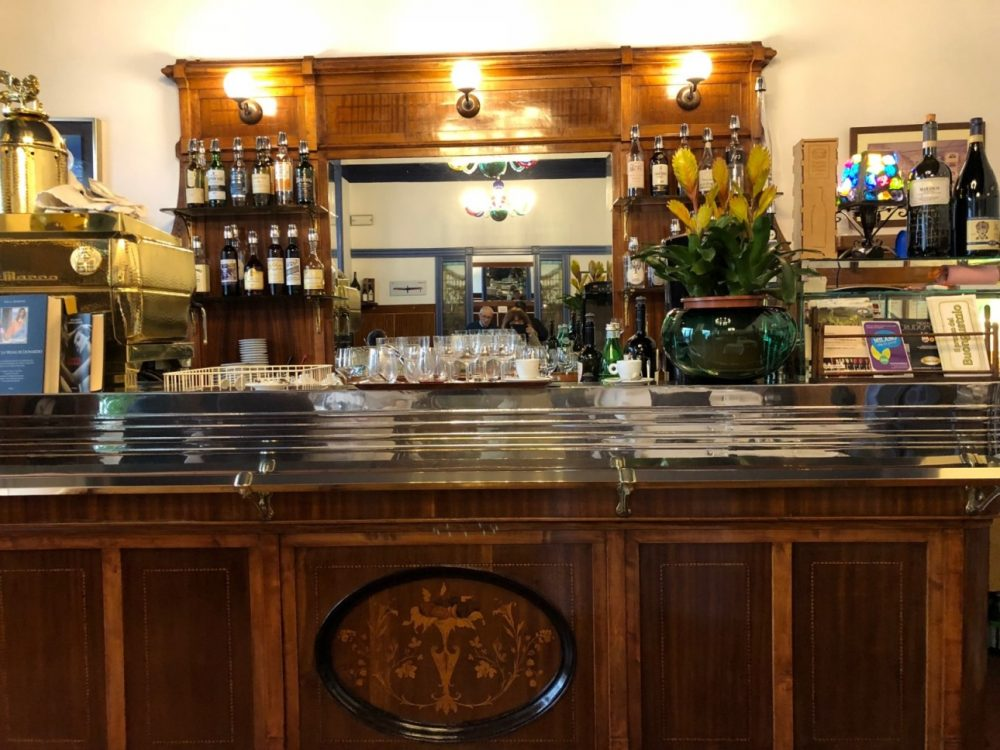 Trattoria Masuelli, mobile bar anni venti