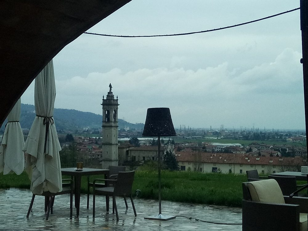 Vista di San Paolo d'Argon dal Florian Maison