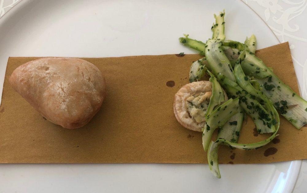 asparagi e panzerottino