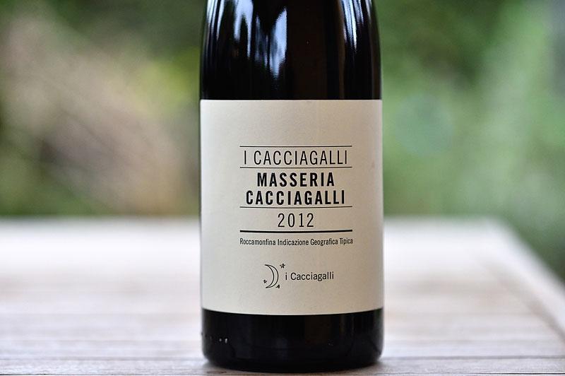 Roccamonfina IGT Masseria Cacciagalli 2012 - I Cacciagalli