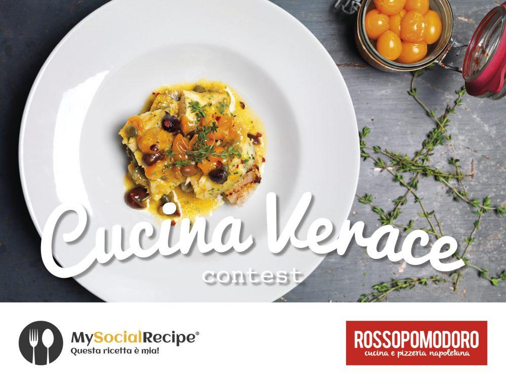 Cucinaverace, promosso da MySocialRecipe e Rossopomodoro