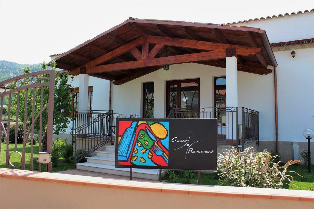 Giulio Restaurant ingresso esterno