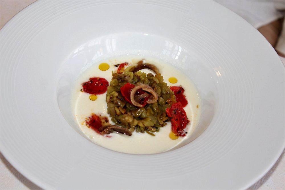 Giulio Restaurant antipasto zuppetta di bufala