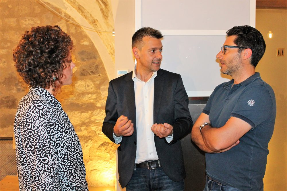 Bistrot26 - Mario Basco con Diana Iannaccone e Piero Gabriele AIS Caserta