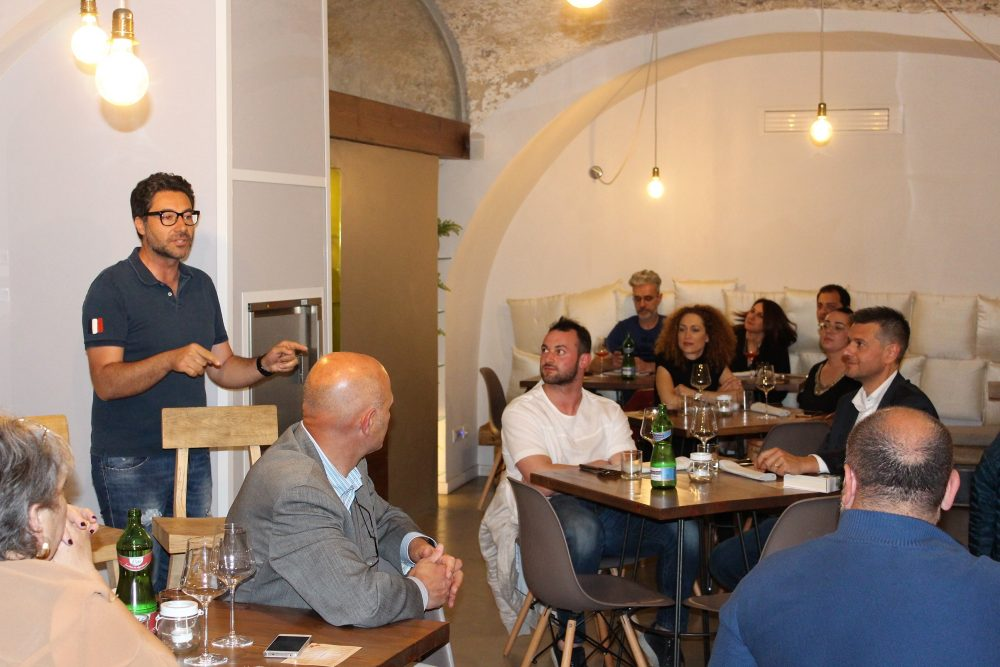 Bistrot26 – Mario Basco saluta gli ospiti
