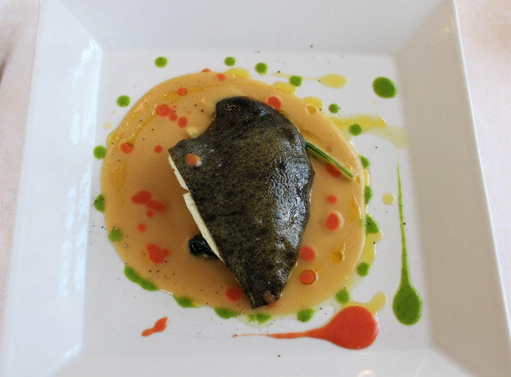 Giulio Restaurant il rombo ceci e bietole
