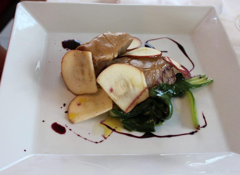 Giulio Restaurant capocollo di maiale brasato
