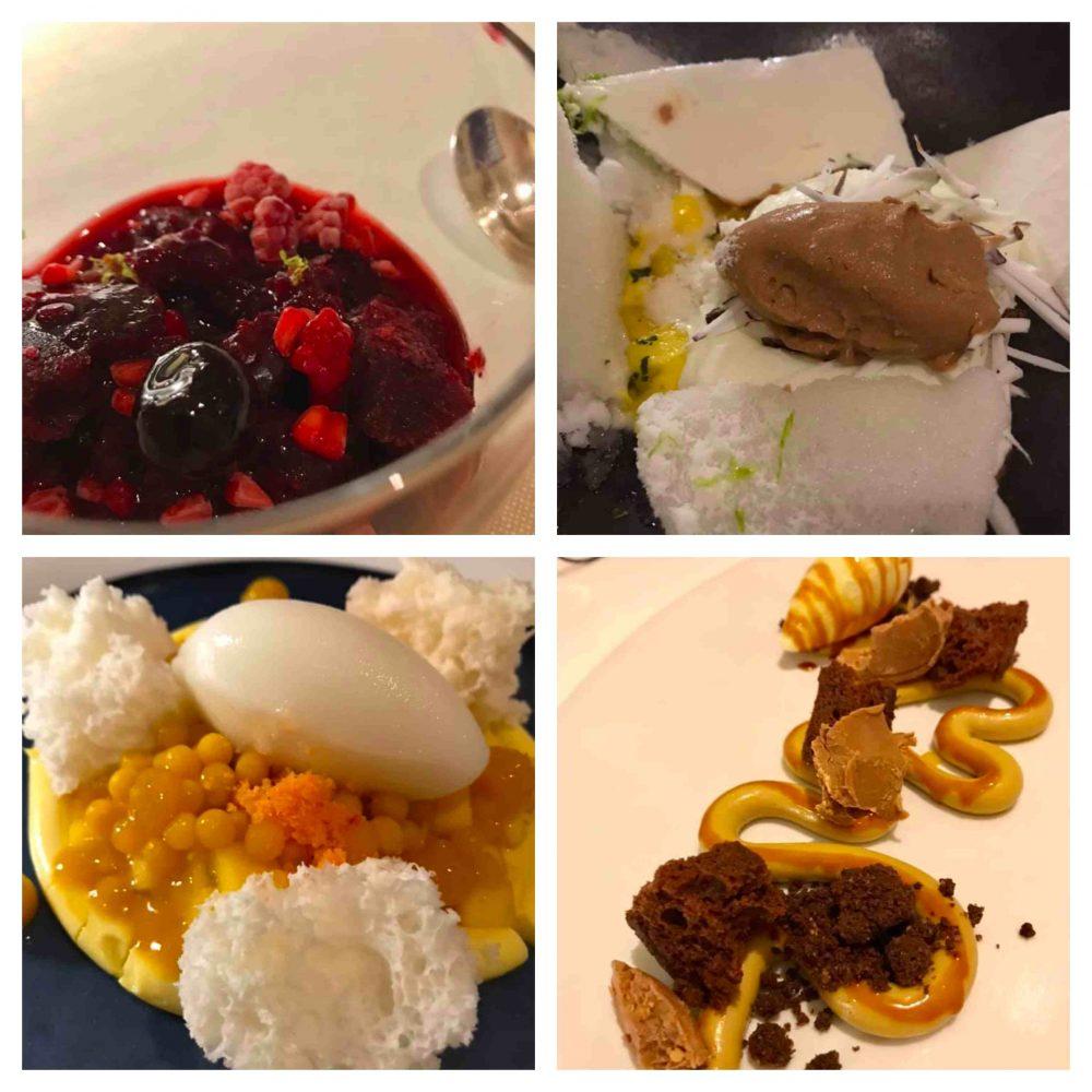 I Portici, pre dessert e dessert