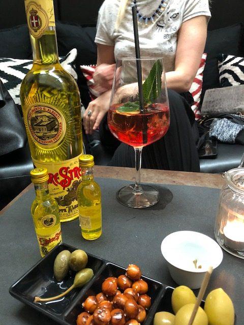 Albertino classico con liquore Strega