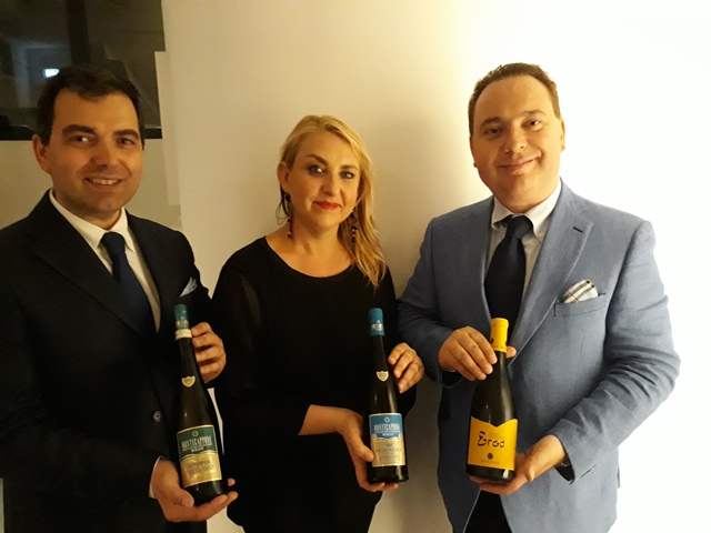Alessandro Mirizzi, Sara Blandamura e Gianluca Mirizzi