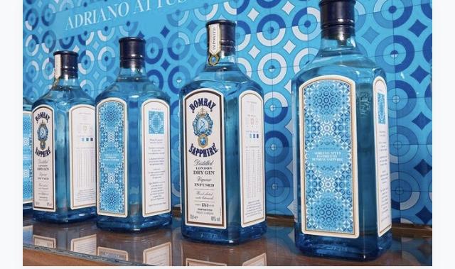 Bombay Sapphire con l'etichetta limited edition