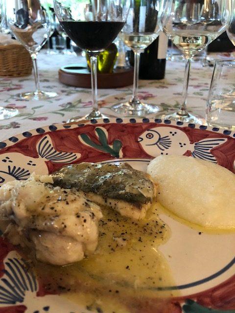 Boreto Graesan - piatto di pesce tipico della Laguna di Grado, fatto con pesci poveri pepe e aceto