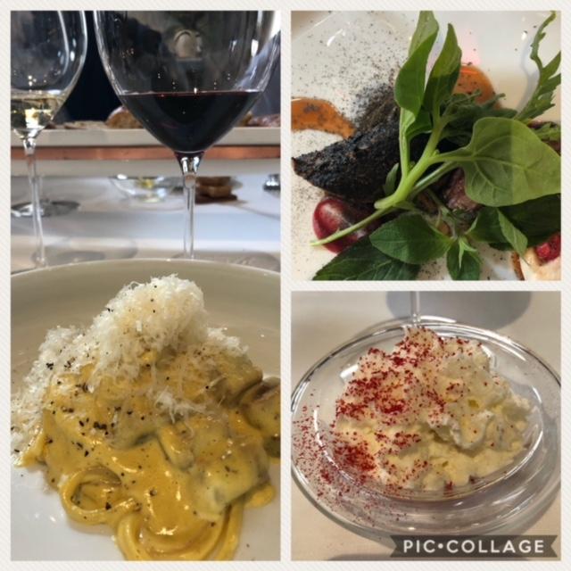 Carbonara, Agnello, Fragole e panna classici della cucina romana