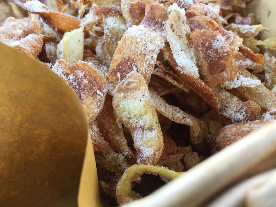 Casali del Pino, bucce di patate fritte