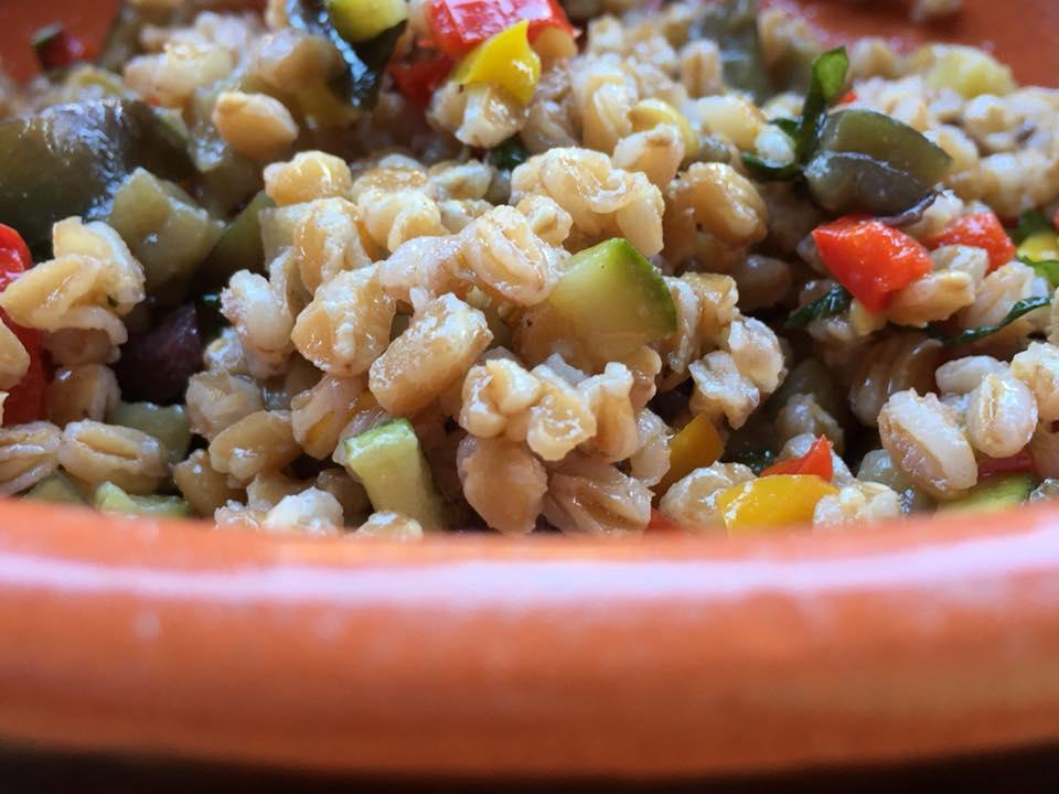 Casali del Pino, farro in insalata