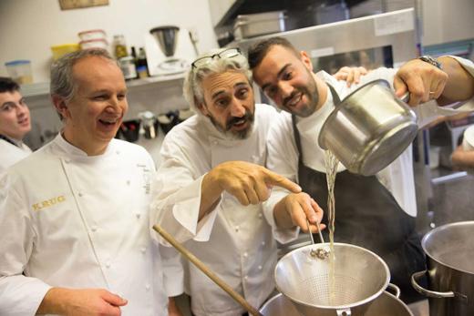 Davide Botta, Leandro Luppi e Alberto Basso