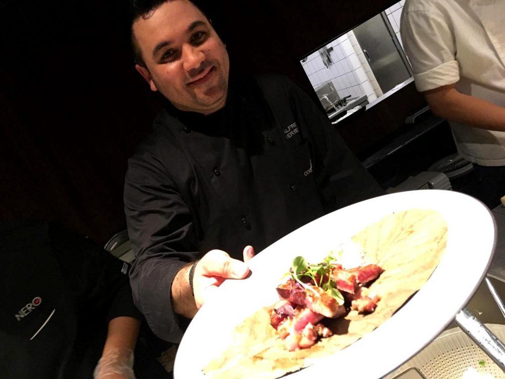 Alfredo Versetto & Il Kobe Beef