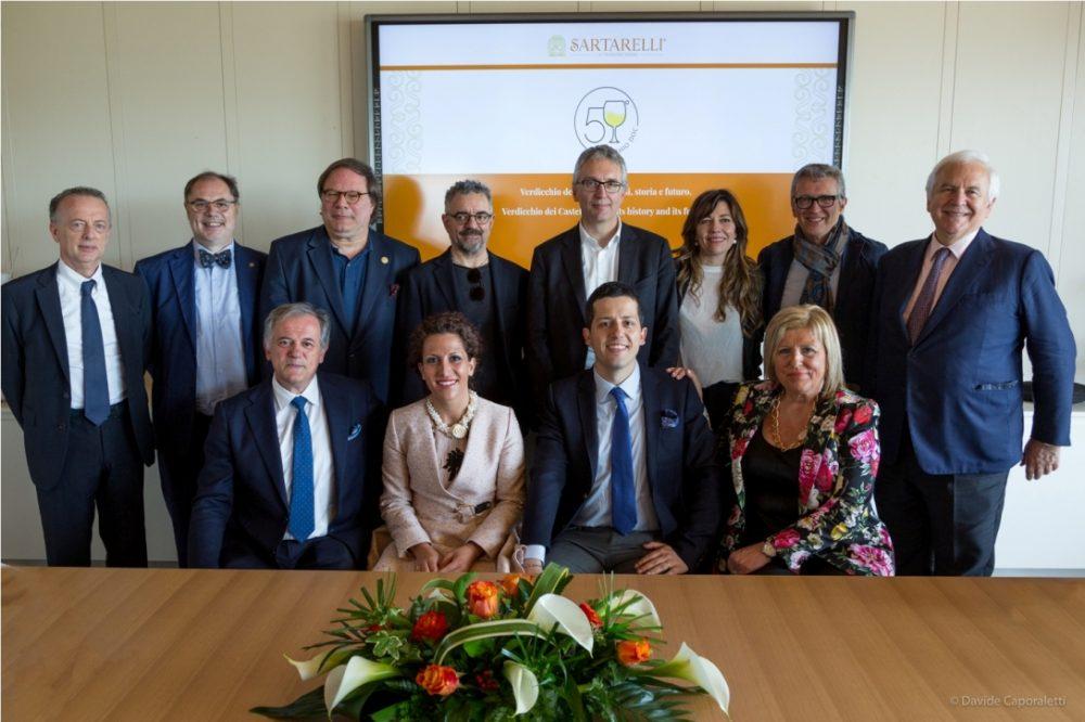 Famiglia Sartarelli con Relatori Convegno