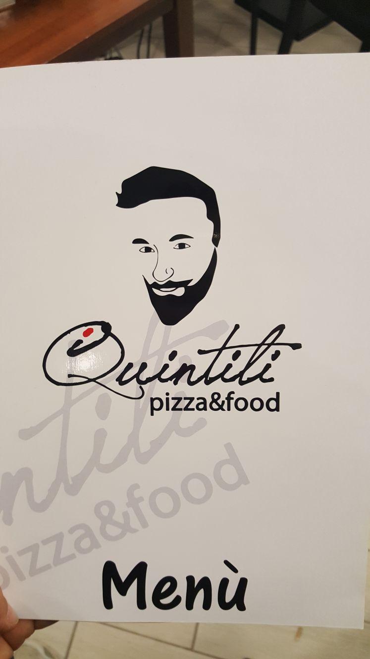 I Quintili - la copertina del menu