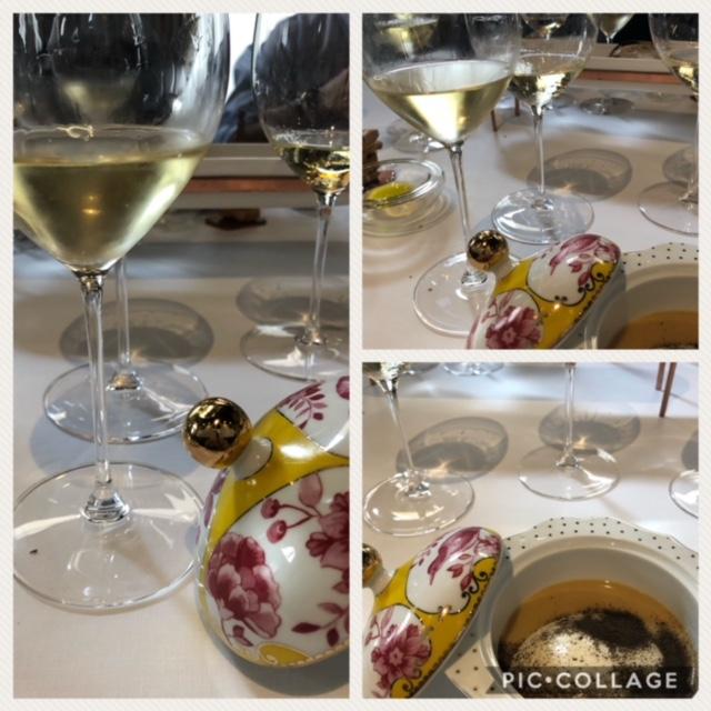 Il Frascati Doc Campo Vecchio e il Frascati superiore Docg provati con l'uovo in cocotte