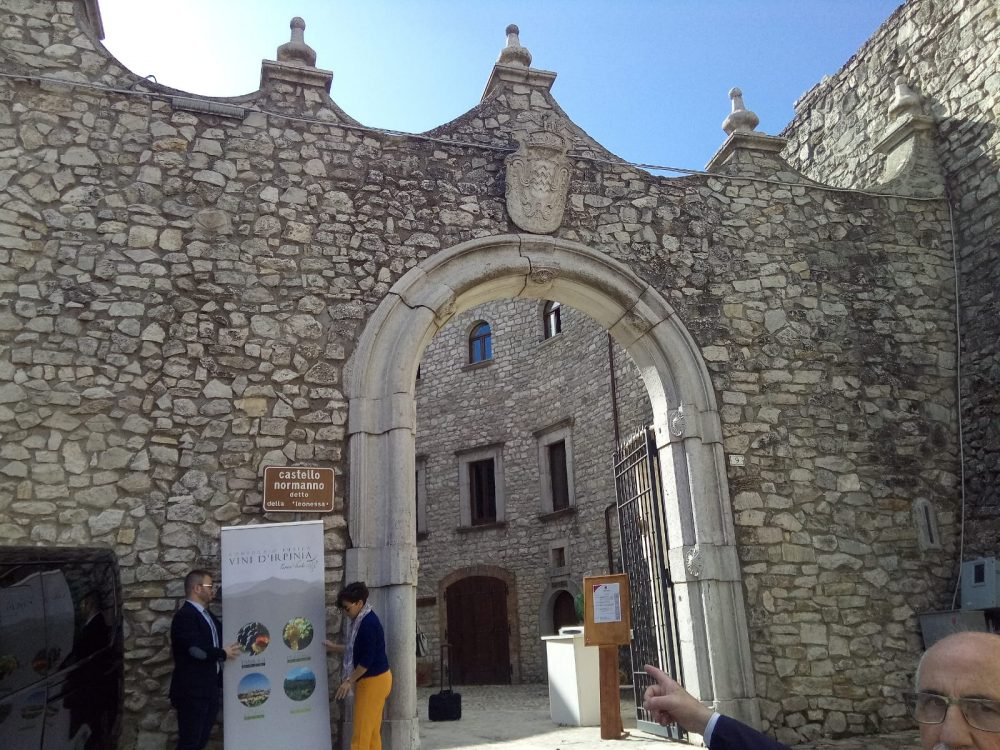 Ingresso Castello della Leonessa di Montemiletto