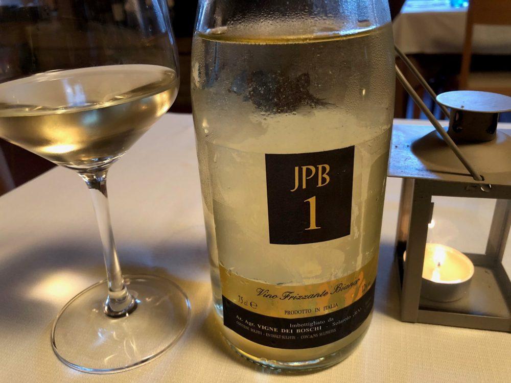 La Canonica, JPB1 Trebbiano Romagnolo Vigne Dei Boschi, frizzante naturale col fondo, metodo ancestrale