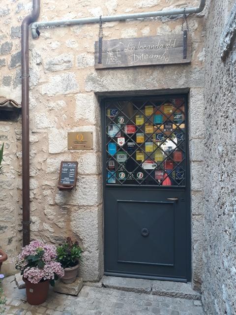 La Locanda del Ditirambo - la porta d'entrata
