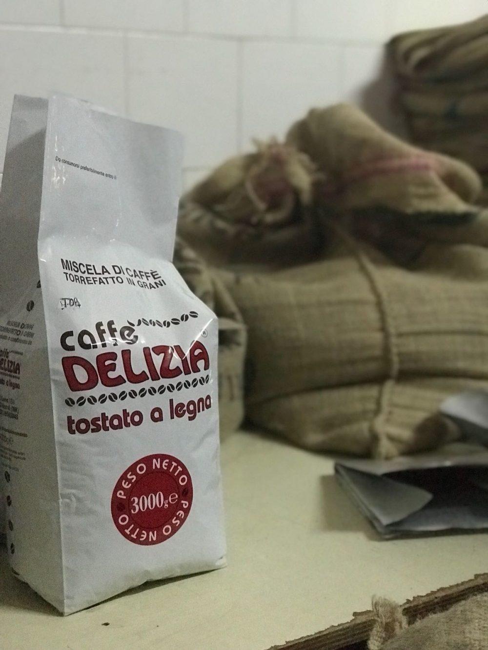 La torrefazione Caffe' Delizia